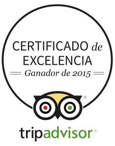 Certificado de Exelencia 2015